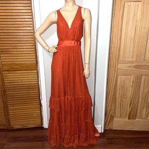 Diane Von Furstenberg Rumi Lace wrap maxi dress